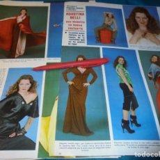 Coleccionismo de Revistas y Periódicos: RECORTE : AGOSTINA BELLI. SEMANA, AGTO 1980(#). Lote 246136995