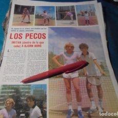 Coleccionismo de Revistas y Periódicos: RECORTE : EL DUO LOS PECOS. SEMANA, AGTO 1980(#). Lote 246137220