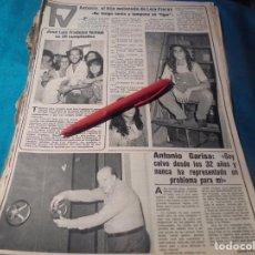 Coleccionismo de Revistas y Periódicos: RECORTE : ANTONIO FLORES. SEMANA, AGTO 1980(#). Lote 246137640