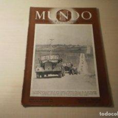 Coleccionismo de Revistas y Periódicos: REVISTA MUNDO Nº 50 ( 20 ABRIL 1941). Lote 246137780