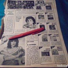 Coleccionismo de Revistas y Periódicos: RECORTE : LUZ CASAL. EL GRUPO MADNESS. SEMANA, AGTO 1980(#). Lote 246137910