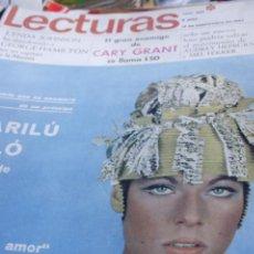 Coleccionismo de Revistas y Periódicos: SEAN CONNERY BRIGITTE BARDOT GEMMA CUERVOO AUDREY HEPBURN 1967. Lote 246168160