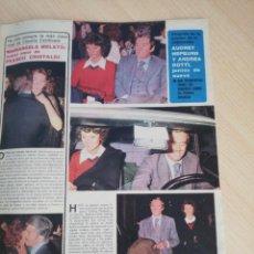 Coleccionismo de Revistas y Periódicos: AUDREY HEPBURN. RECORTE REVISTA. Lote 246232440