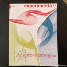 Coleccionismo de Revistas y Periódicos: REVISTA EXPERIMENTA. NUMERO 72. Lote 246349795