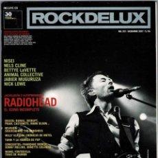 Collectionnisme de Revues et Journaux: ROCKDELUX NO. 257. DICIEMBRE 2007. RADIOHEAD. NISEI. NICK LOWE. Lote 246741940
