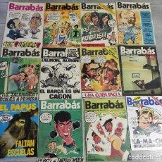 Coleccionismo de Revistas y Periódicos: LOTE REVISTAS BARRABAS ,FÚTBOL Y SATÍRICAS DEL DEPORTE Y UNA DE EL PAPUS. Lote 246772790