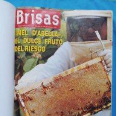 Coleccionismo de Revistas y Periódicos: REVISTA BRISAS DEL 242-8/12/1991AL 267 31/5/1992. Lote 246923865