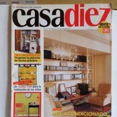 Coleccionismo de Revistas y Periódicos: REVISTA DE DECORACION / CASA DIEZ N° 2387 / CORRESPONDIENTE AL N° 9 -- 23 - 5 - 1997.. Lote 247075195