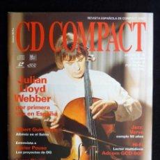 Coleccionismo de Revistas y Periódicos: REVISTA CD COMPACT. Nº 65. 1994. JULIAN LLOYD WEBBER, ALBERT GUINOVART, JAVIER POUSO. Lote 247517740