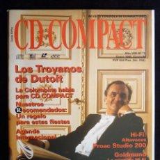Coleccionismo de Revistas y Periódicos: REVISTA CD COMPACT. Nº 73. 1995. LOS TROYANOS DE DUTROIT. Lote 247518515
