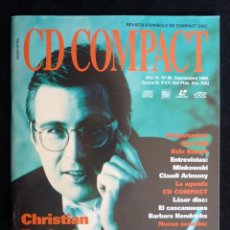 Coleccionismo de Revistas y Periódicos: REVISTA CD COMPACT. Nº 80. 1995. CHRISTIAN ZACHARIAS, CARL ORFF, BÉLA BÁRTOK, MINKOWSKI, CLAUDI ARIM. Lote 247519350
