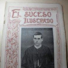 Coleccionismo de Revistas y Periódicos: MAGNIFICOS ANTIGUOS 29 NUMEROS DE LA REVISTA SUCESO ILUSTRADO DEL 1901 MADRID. Lote 247984750