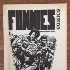 Coleccionismo de Revistas y Periódicos: FUNNIES COMICS. GUIONISTAS Y DIBUJANTES NOVELES Nº 1 (BARCELONA, 1983). Lote 248010985