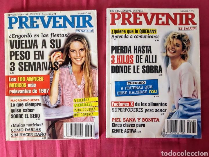 Coleccionismo de Revistas y Periódicos: 5 revistas PREVENIR - Foto 2 - 248018960