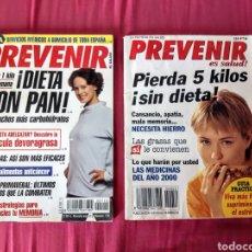 Coleccionismo de Revistas y Periódicos: 5 REVISTAS PREVENIR. Lote 248018960