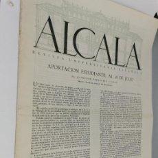 Coleccionismo de Revistas y Periódicos: ALCALA REVISTA UNIVERSITARIA ESPAÑOLA Nº 13 1953 APORTACION ESTUDIANTIL AL 18 DE JULIO. Lote 248075980