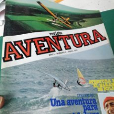 Coleccionismo de Revistas y Periódicos: REVISTA AVENTURA. AÑO 1.N.2. Lote 248236575