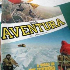 Coleccionismo de Revistas y Periódicos: REVISTA AVENTURA. AÑO 1.N.3. Lote 248236750