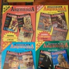 Coleccionismo de Revistas y Periódicos: MISTERIOS DE LA ARQUEOLOGIA Y DEL PASADO. 12 NÚMEROS EN 4 RETAPADOS.. Lote 249034320