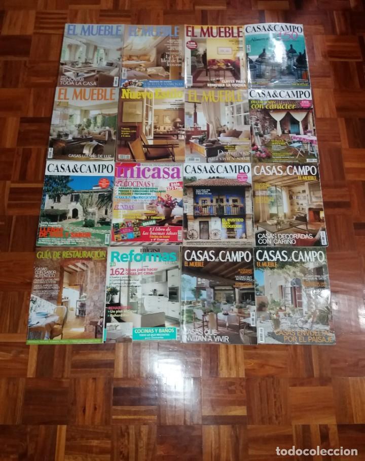 ESPLENDIDA COLECCION DE REVISTAS DE DECORACION AÑOS 90´S (Coleccionismo - Revistas y Periódicos Modernos (a partir de 1.940) - Otros)