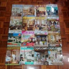 Coleccionismo de Revistas y Periódicos: ESPLENDIDA COLECCION DE REVISTAS DE DECORACION AÑOS 90´S. Lote 249060250