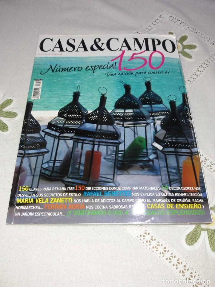 Coleccionismo de Revistas y Periódicos: ESPLENDIDA COLECCION DE REVISTAS DE DECORACION AÑOS 90´S - Foto 5 - 249060250
