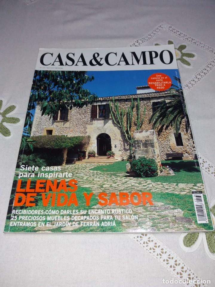 Coleccionismo de Revistas y Periódicos: ESPLENDIDA COLECCION DE REVISTAS DE DECORACION AÑOS 90´S - Foto 10 - 249060250
