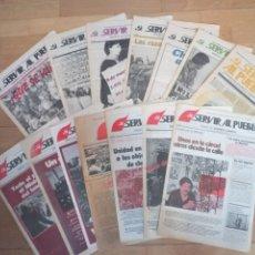 Coleccionismo de Revistas y Periódicos: LOTE REVISTAS COMUNISTAS MC SERVIR AL PUEBLO TRANSICIÓN MOVIMIENTO COMUNISTA. Lote 249306195