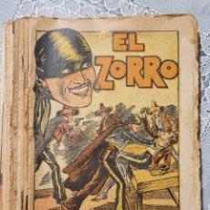 Collectionnisme de Revues et Journaux: EL ZORRO REVISTA SEMANAL DE AVENTURAS DE BARCELONA NUMEROS DEL 1 AL 15 COMPLETOS. Lote 249589375