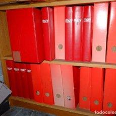 Coleccionismo de Revistas y Periódicos: ¡CASI 200 NÚMEROS! - MUY INTERESANTE 16 AÑOS COMPLETOS DESDE EL NÚMERO 1. Lote 212829115