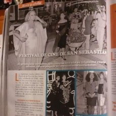 Collectionnisme de Revues et Journaux: ALI MCGRAW ANGELA MOLINA URSULA ANDRESS MERCEDES SAMPIETRO. Lote 250271275