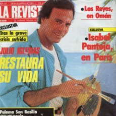 Coleccionismo de Revistas y Periódicos: JULIO IGLESIAS (5 PAG. 4 FOTOS) ISABEL PANTOJA (4 PAGINAS 5 FOTOS) ENCARNA SANCHEZ (4 PAG. 5 FOTOS). Lote 251026805