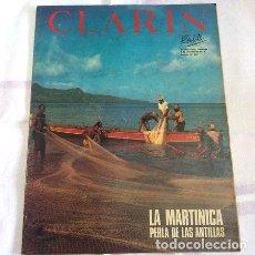 Colecionismo de Revistas e Jornais: REVISTA CLARIN 9941 BOBBY FISCHER 2 PAGINAS. Lote 250713800