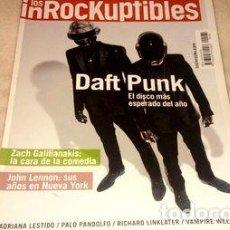 Coleccionismo de Revistas y Periódicos: LOS INROCKUPTIBLES 181 DAFT PUNK IMPECABLE ESTADO. Lote 250747510
