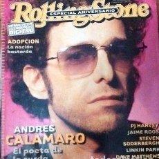 Coleccionismo de Revistas y Periódicos: ROLLING STONE CALAMARO BOB DYLAN U2 DAFT PUNK KEROUAC HARVEY. Lote 250783130