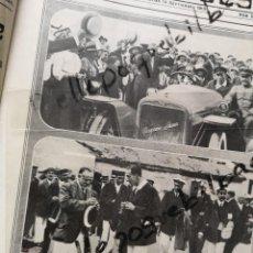Coleccionismo de Revistas y Periódicos: HOJA REVISTA 1913 ALFONSO XIII REGATAS EN BIARRITZ EN COCHE HISPANO SUIZA ARISTOCRACIA SAN SEBASTIAN. Lote 251326310