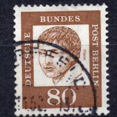 Collezionismo di Riviste e Giornali: BERLIN, STAMP, , 1961 , MICHEL 211 USED. Lote 251645220