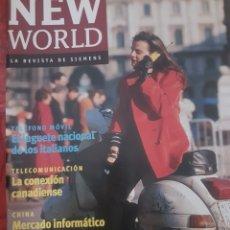 Coleccionismo de Revistas y Periódicos: REVISTA NEW WORLD N° 1/97. REVISTA DE SIEMENS. Lote 251654800