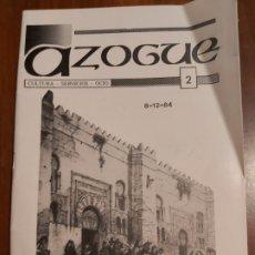 Coleccionismo de Revistas y Periódicos: REVISTA AZOGUE AÑO 84. Lote 251936590