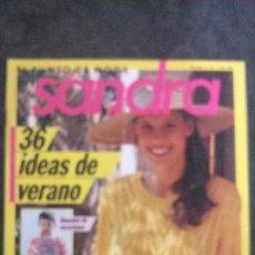 Coleccionismo de Revistas y Periódicos: SANDRA Nº 35-JULIO 1989-EL PUNTO DE MODA. Lote 252047860