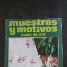Coleccionismo de Revistas y Periódicos: MUESTRAS Y MOTIVOS-PUNTO DE CRUZ-Nº 22. Lote 252049655