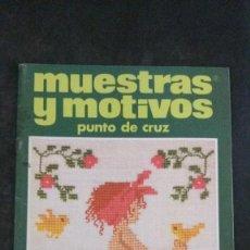 Coleccionismo de Revistas y Periódicos: MUESTRAS Y MOTIVOS-PUNTO DE CRUZ-Nº 3. Lote 252049780