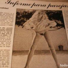 Collezionismo di Riviste e Giornali: REVISTA EROTICA 1981 EVA IONESCO REVISTA COMPLETA.. Lote 277709688