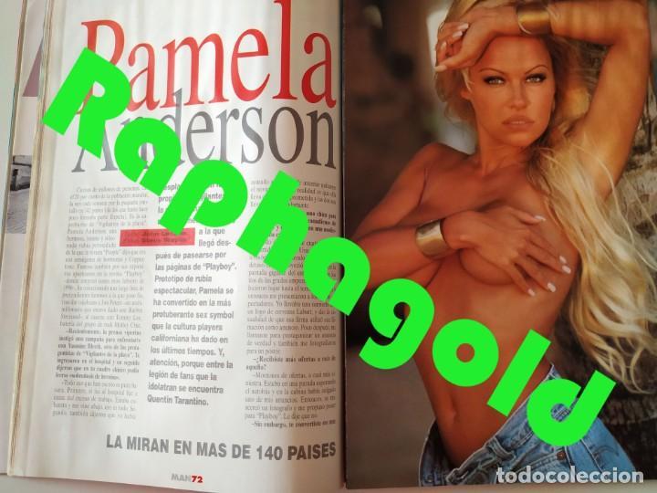 Coleccionismo de Revistas y Periódicos: Revista MAN 92 Pamela Anderson Antonio Flores Nicole Kidman Fernando Redondo Rodrigo Rato James Dean - Foto 4 - 252288390