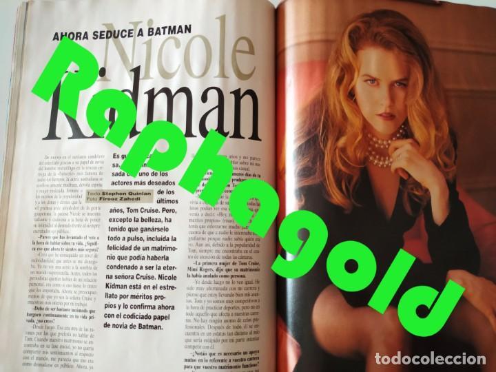 Coleccionismo de Revistas y Periódicos: Revista MAN 92 Pamela Anderson Antonio Flores Nicole Kidman Fernando Redondo Rodrigo Rato James Dean - Foto 6 - 252288390