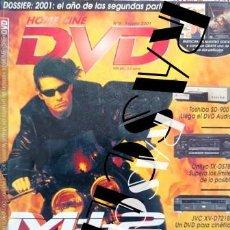 Coleccionismo de Revistas y Periódicos: ANTIGÜA REVISTA - HOME CINE DVD - NUMERO 9 - FEBRERO 2001. Lote 252356390