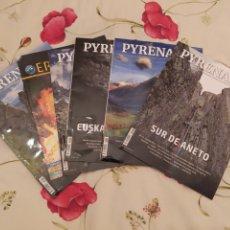 Coleccionismo de Revistas y Periódicos: LOTE DE SEIS REVISTAS DE MONTAÑA. Lote 252485760