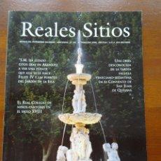 Coleccionismo de Revistas y Periódicos: REVISTA REALES SITIOS, Nº 146, ARANJUEZ FUENTES, LA GRANJA PLANTAS, SABATINI, AZULEJOS FELIPE II. Lote 252634930