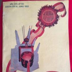 Coleccionismo de Revistas y Periódicos: METALURGIA Y ELECTRICIDAD, AÑO XVII, NÚM. 190, EDICIÓN FIN DE JUNIO DE 1953. Lote 252801205