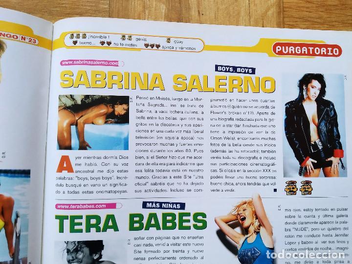 Coleccionismo de Revistas y Periódicos: REVISTA MICRO DINGO 23. PAMELA ANDERSON. SABRINA SALERNO. CARMEN ELECTRA LA MOMIA. - Foto 4 - 252914460